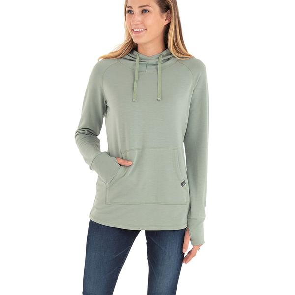 Free Fly Women's Bamboo Fleece Pullover Hoody - Sale