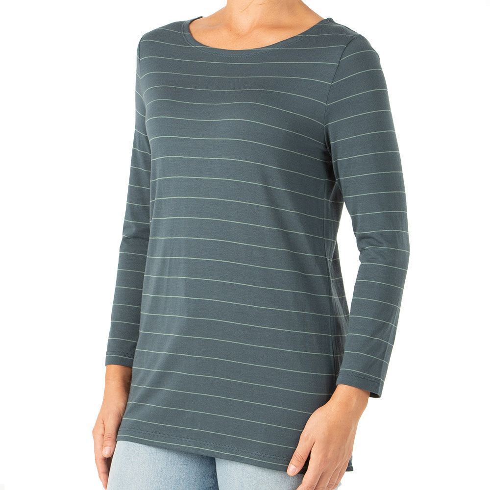 Free Fly Women's Bamboo Shoreline 3/4 Sleeve