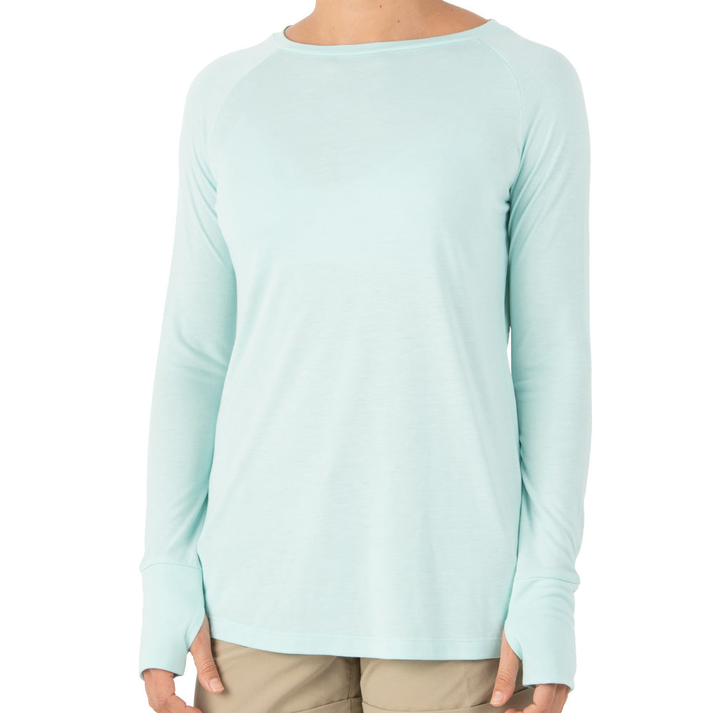 Free Fly Women's Bamboo Weekender Long Sleeve - Sale