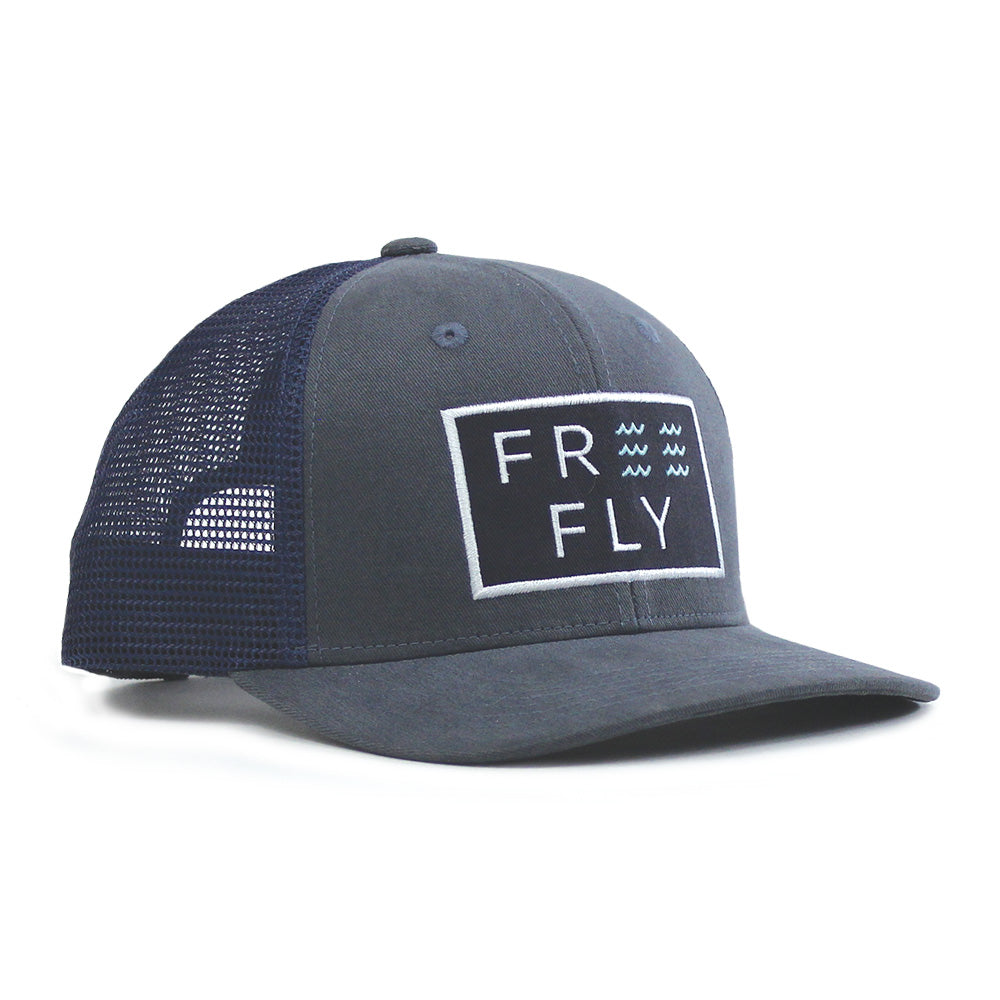 Free Fly Wave Snapback Trucker Hat