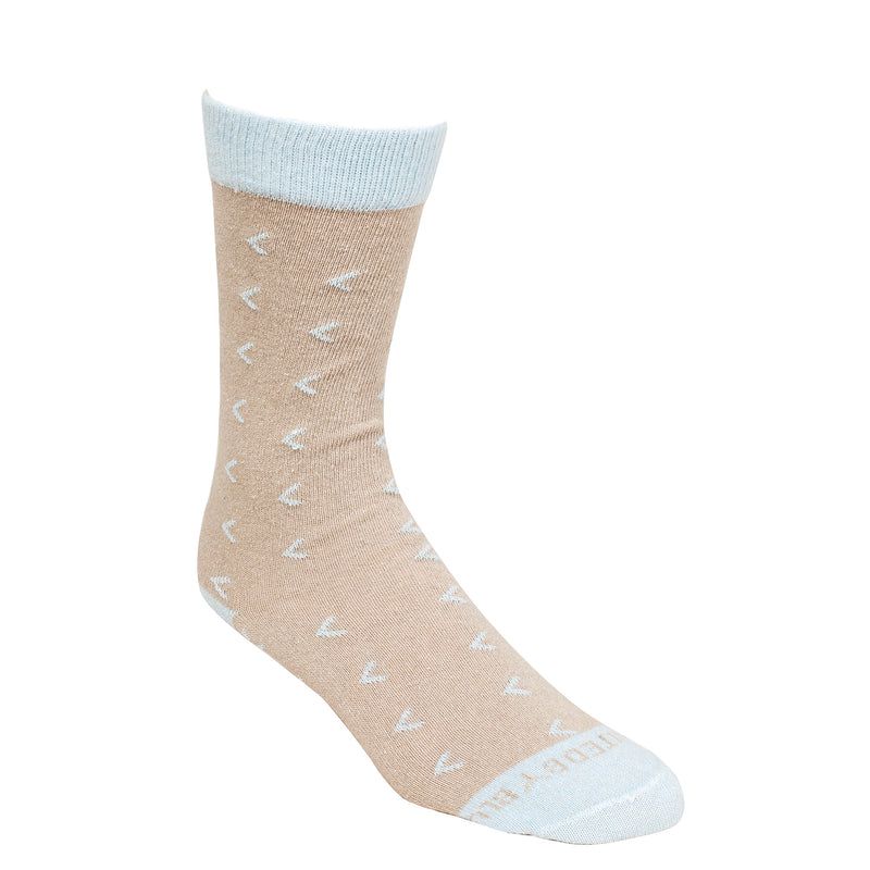 United By Blue Red Rock Bartrams Sock - Tan