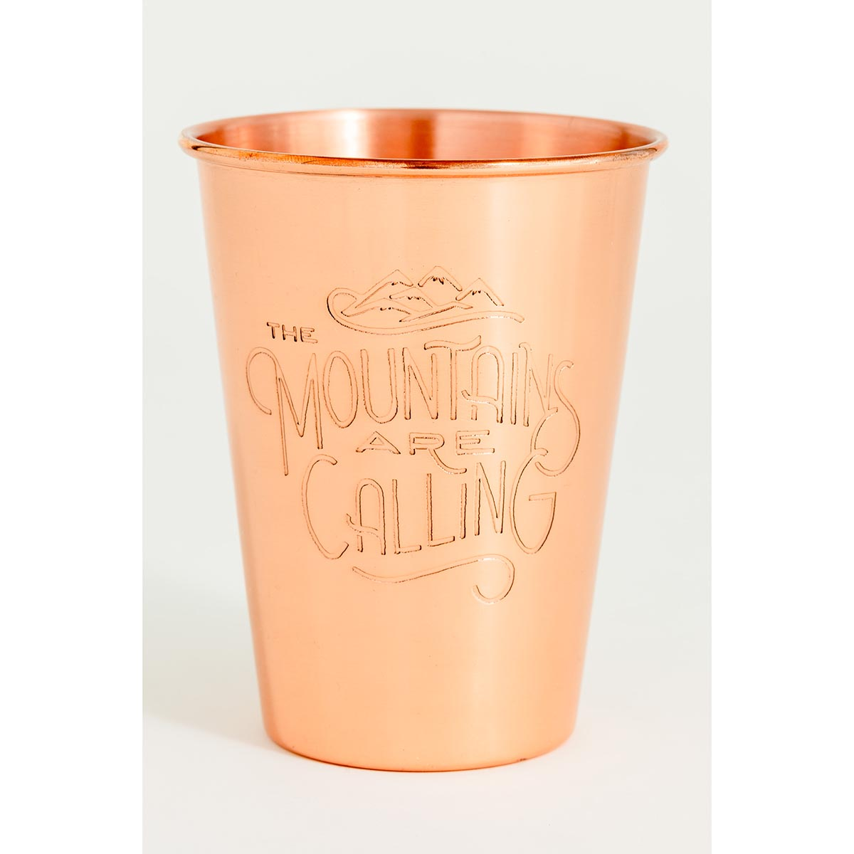 United By Blue Mountains Are Calling Copper Tumbler