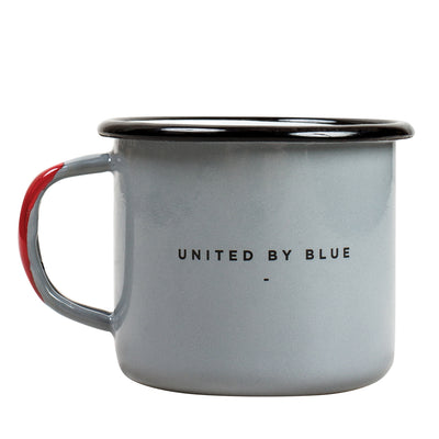 United By Blue John Muir Enamel Steel Mug
