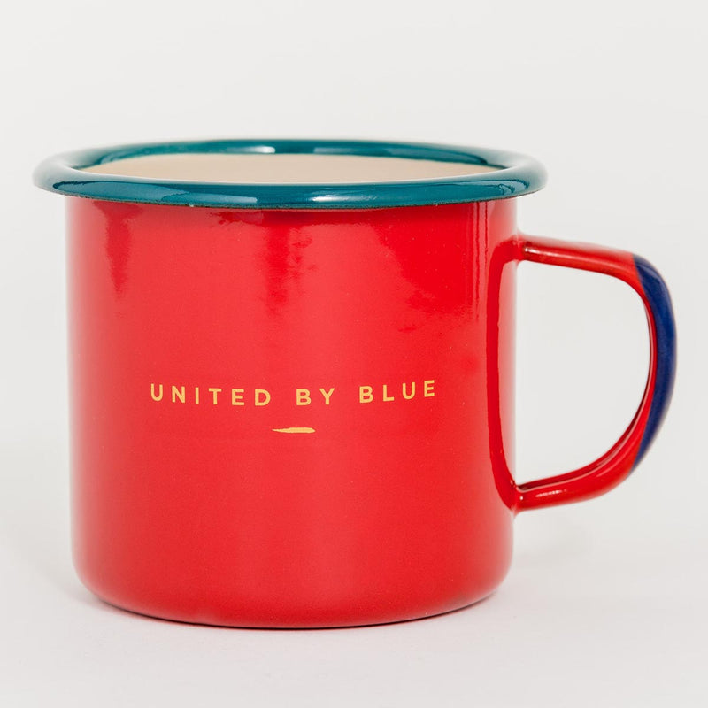 United By Blue Places You'll Go Enamel 12 oz. Mug