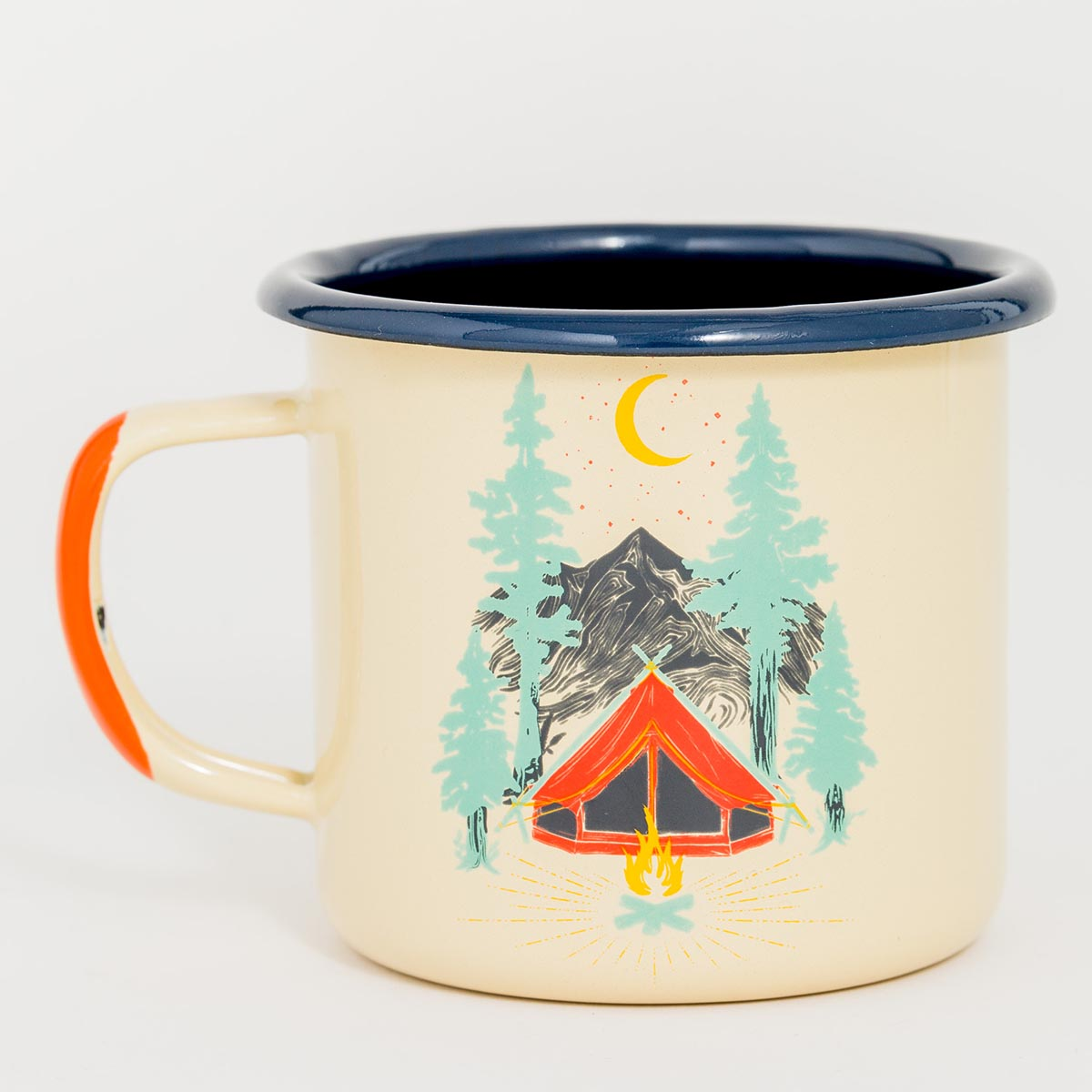 United By Blue Tent Dreams Enamel 12 oz. Mug