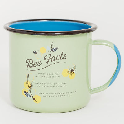 United By Blue Honey Bee Enamel 22 oz. Mug