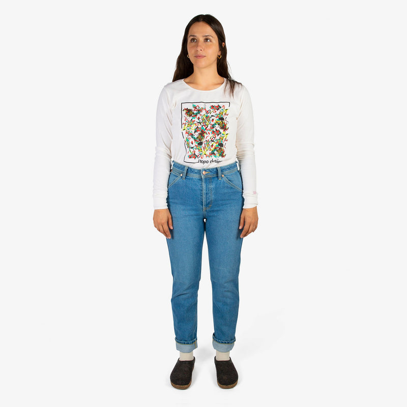 Topo Designs Women's Floral Tee - Sale