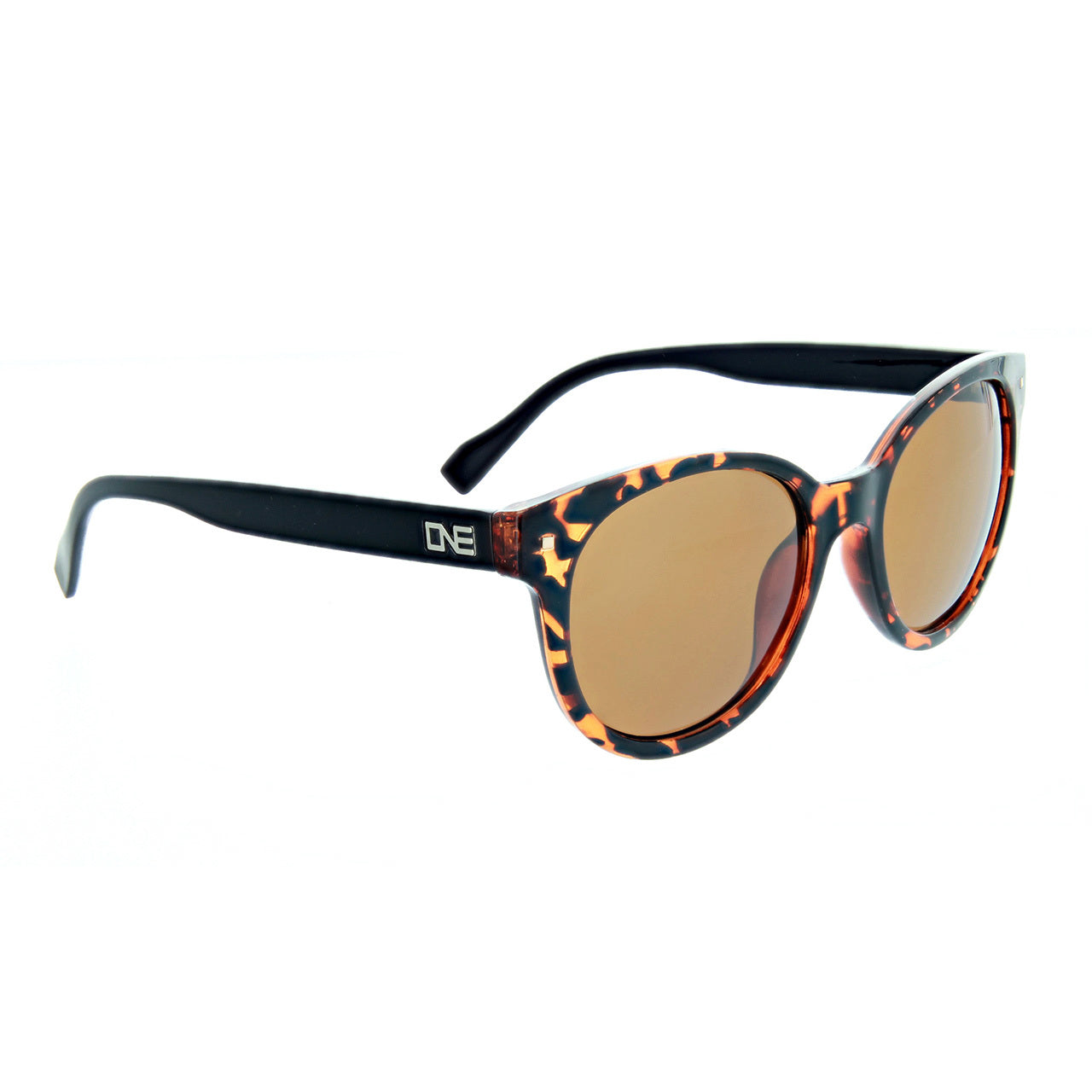 Optic Nerve Hotplate Sunglasses - Shiny Honey Demi Black