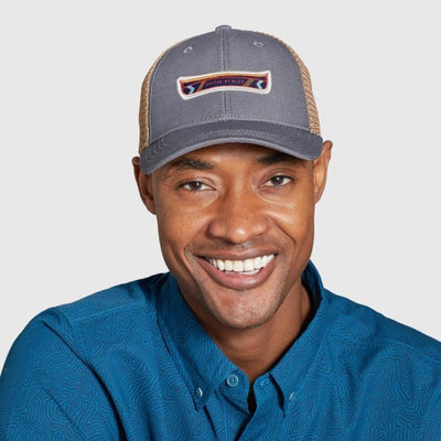 United By Blue Canoe Recycled Ripstop Trucker Hat