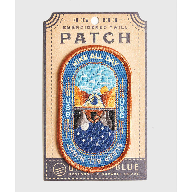 United By Blue Hike All Day Patch