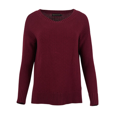United By Blue Women's Himley Waffle Sweater