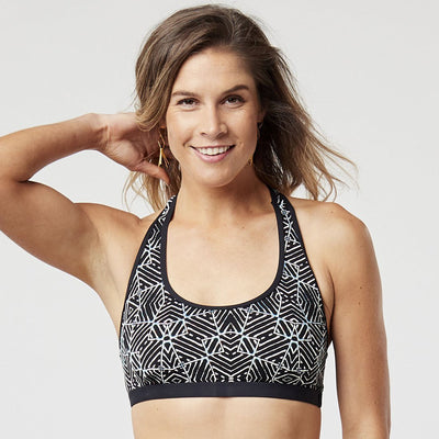 Carve Designs Dana Top - Black Tile
