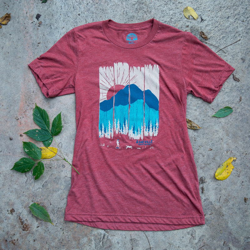 Menottees Summer Mountain Weather Tee