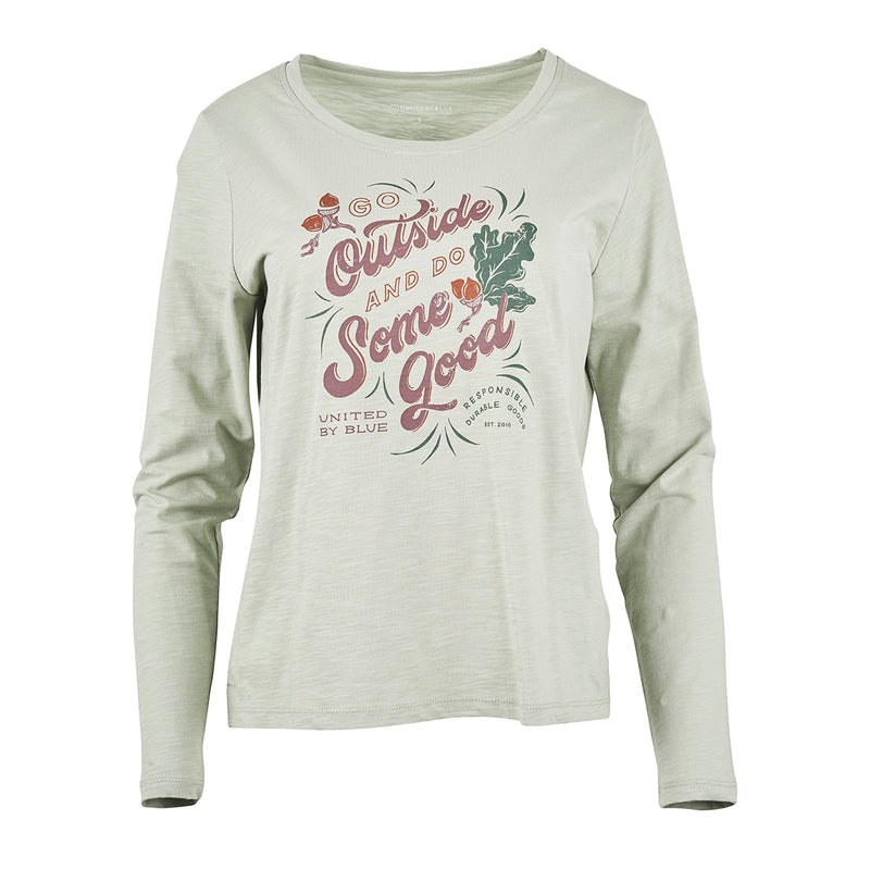 United By Blue Women's Go Outside Long Sleeve Tee