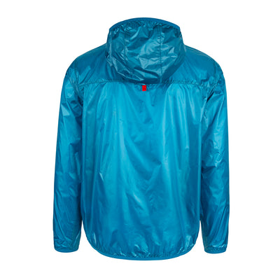 Topo Designs Men's Ultralight Jacket Blue Rear View