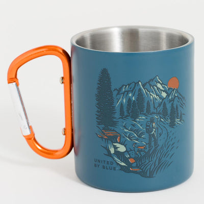 United By Blue Passing Through 10 oz. Carabiner Cup