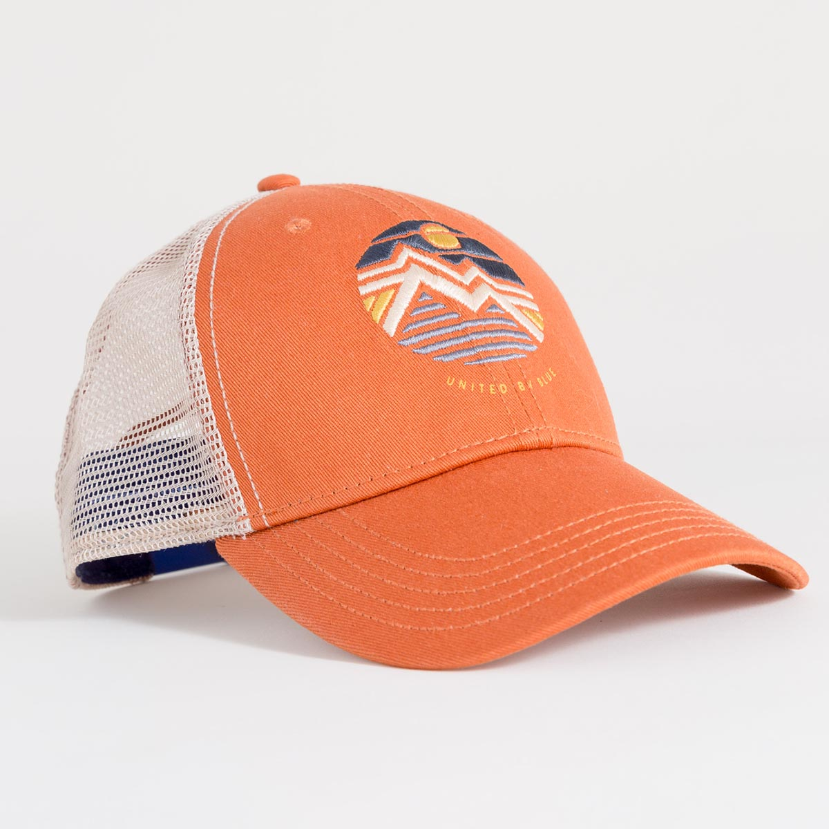 United By Blue Geo Mountain Trucker Hat