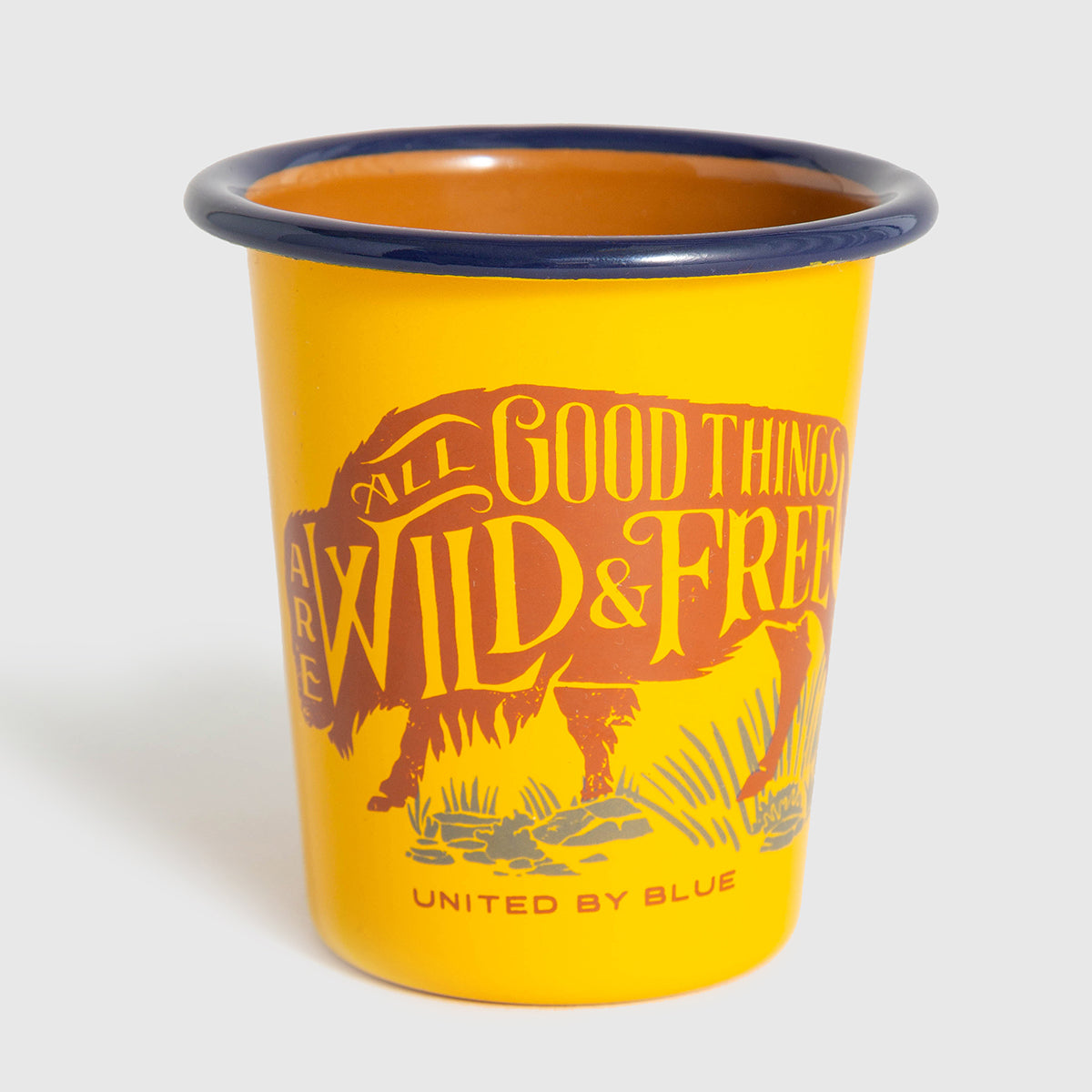 United By Blue Wild & Free 8 oz. Enamel Tumbler