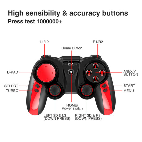 mobile phone wireless controller