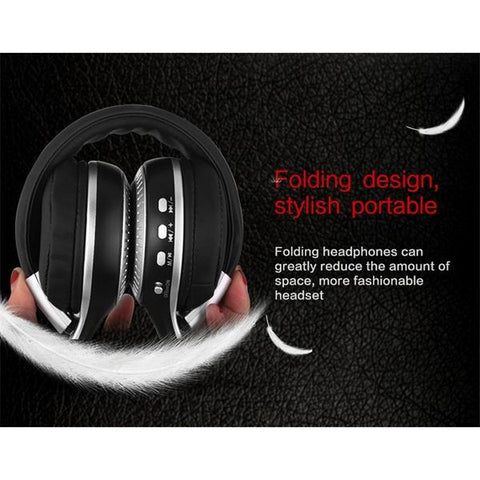 LED screen headphone foldable 039