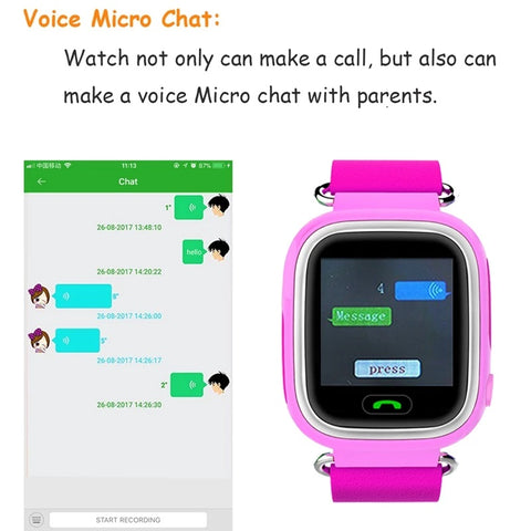 kids' smart watch for tracking