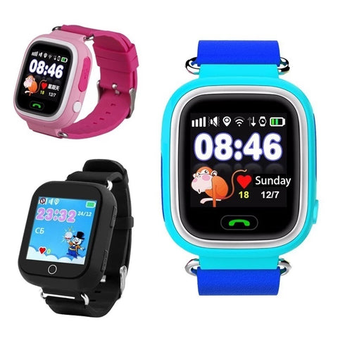 kids smartwatch 3 colors for choose