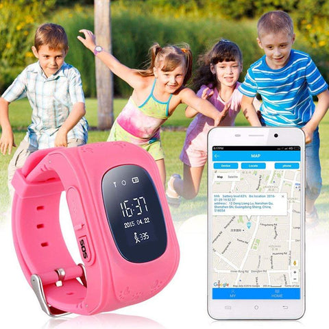 smart watch for kiders can track on smartphone