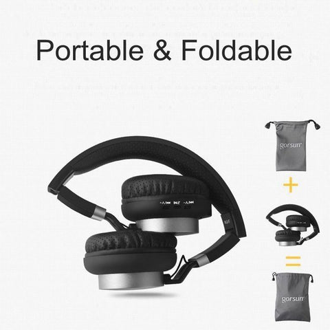 wireless headphone foldable