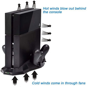 PS4 Stand cooling fans|Multi-function bracket|ITSYH TW-664 - Nice World Store