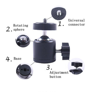 Camera Bracket|Swivel Mini Ball Head|ITSYH LF01-043 - Nice World Store