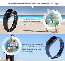 Load image into Gallery viewer, Diggro ID107 Heart Rate Monitor Smart Bracelet Health Monitor Fitness Tracker for Android iOS TW-401 - Nice World Store