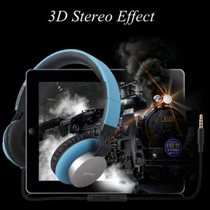 2019 new high quality Laptop game foldable headphone with microphone wired bass Matte color Stereo  earphones TW-760 - Nice World Store