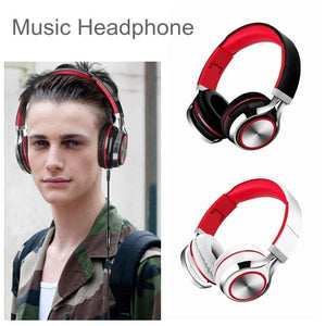 2019 Popular fashion heavy bass folding headphone with microphone game mp3 headset 1.5m wired TW-811 - Nice World Store