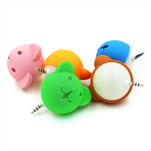 Cute cartoon Bear doll  mini speaker Amplifier | ITSYH LF01-007 - Nice World Store