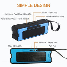 Load image into Gallery viewer, Waterpoorf Portable Wireless Bluetooth Speakers | ITSYH F01-078 - Nice World Store