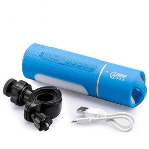 Wterproof Bluetooth Speaker Flashlight | ITSYH LF03-671 - Nice World Store