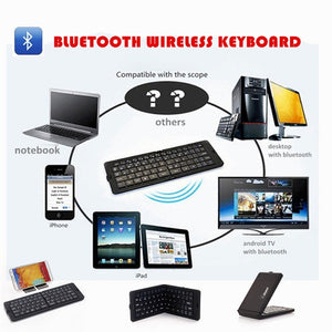 Bluetooth Keyboard|Wireless Keyboard|ITSYH TW-241 - Nice World Store