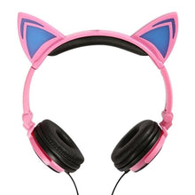 Load image into Gallery viewer, Cat Ear Headphones | LED  Headphones | ITSYH TW-763 - Nice World Store