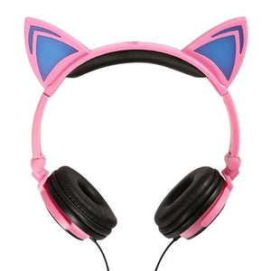 Cat Ear Headphones | LED  Headphones | ITSYH TW-763 - Nice World Store