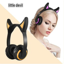 Load image into Gallery viewer, Cat Ear Headphones | Bluetooth Headsets | ITSYH WT8-042 - Nice World Store