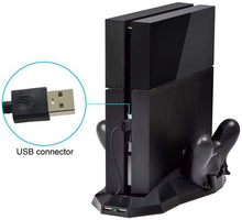 Load image into Gallery viewer, PS4 Stand cooling fans|Multi-function bracket|ITSYH TW-664 - Nice World Store