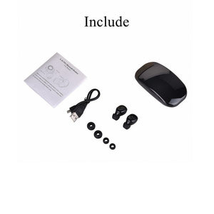 Bluetooth Earphones|With Earphone Case|ITSYH WT8-0602 - Nice World Store