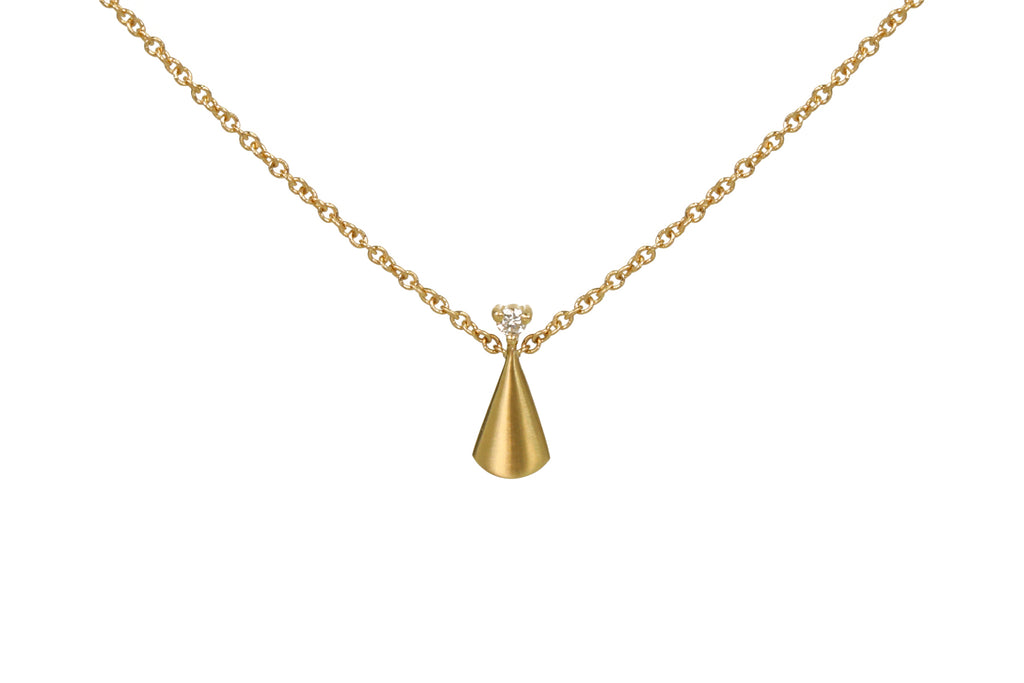 RAY NECKLACE W/ DIAMOND