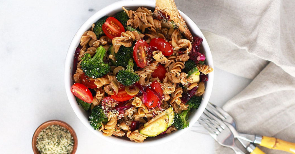 Protein-Packed Pasta Salad Recipe