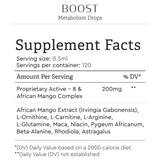 Boost Metabolism Drops