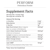 Perform Pre-Workout Powder