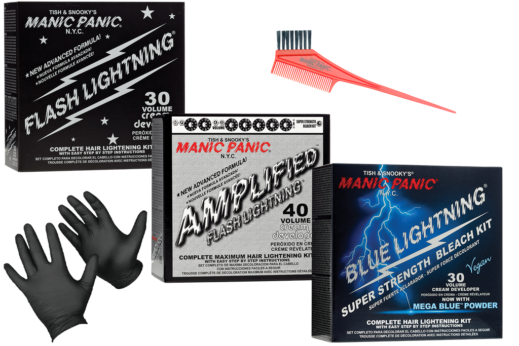 HAIR BLEACH: Everything You Need To Lighten Your Hair for Manic Panic Hair Color