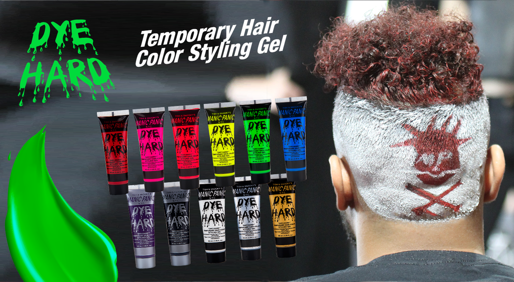 DYE HARD: TEMPORARY HAIR COLOR STYLING GEL