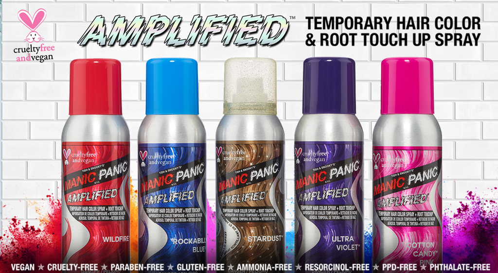 Amplified Temporary Hair Color Spray Tish Snookys Manic Panic
