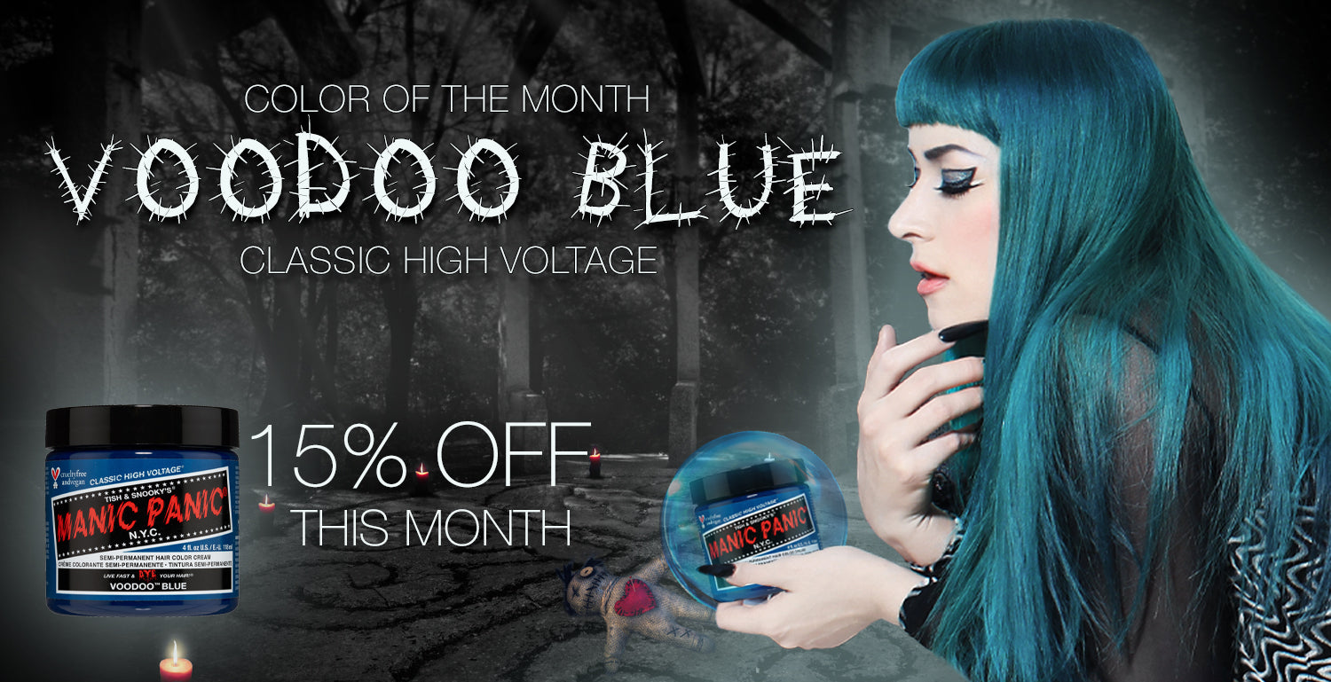 Color of the Month Voodoo Blue